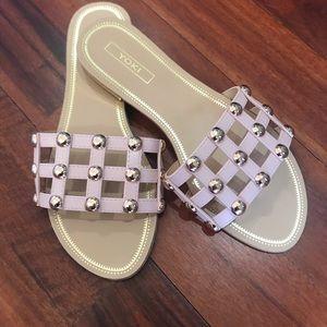 Shoes - Brand new embellished slides